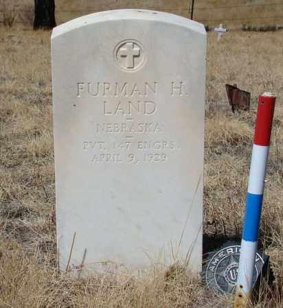 LAND, FURMAN H - Teller County, Colorado | FURMAN H LAND - Colorado Gravestone Photos
