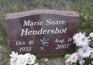 MARIE, HENDERSHOT - Teller County, Colorado   HENDERSHOT MARIE - Colorado Gravestone Photos