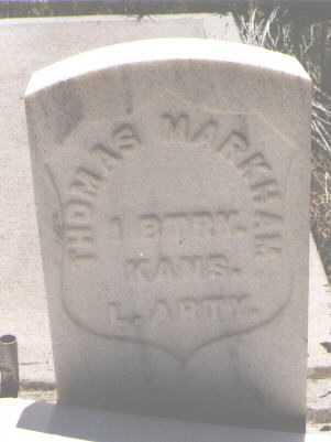 MARKHAM, THOMAS - Teller County, Colorado   THOMAS MARKHAM - Colorado Gravestone Photos