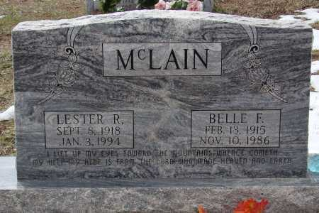 MCLAIN, LESTER R - Teller County, Colorado | LESTER R MCLAIN - Colorado Gravestone Photos