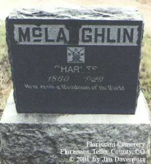 MCLAUGHLIN, CHARLES - Teller County, Colorado | CHARLES MCLAUGHLIN - Colorado Gravestone Photos