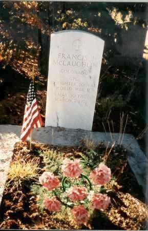 MCLAUGHLIN, FRANCIS J.  (FRATER) - Teller County, Colorado | FRANCIS J.  (FRATER) MCLAUGHLIN - Colorado Gravestone Photos