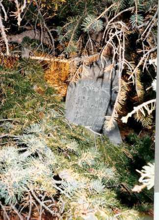 MCLAUGHLIN, GRACE MAREE - Teller County, Colorado | GRACE MAREE MCLAUGHLIN - Colorado Gravestone Photos