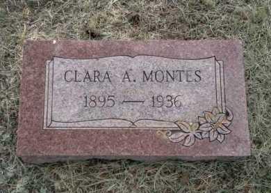 MONTES, CLARA A. - Teller County, Colorado | CLARA A. MONTES - Colorado Gravestone Photos