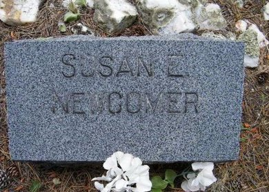 ELLENBERGER NEWCOMER, SUSAN E. - Teller County, Colorado | SUSAN E. ELLENBERGER NEWCOMER - Colorado Gravestone Photos