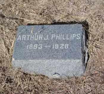 PHILLIPS, ARTHUR J. - Teller County, Colorado | ARTHUR J. PHILLIPS - Colorado Gravestone Photos