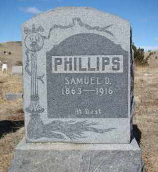 PHILLIPS, SAMUEL D. - Teller County, Colorado | SAMUEL D. PHILLIPS - Colorado Gravestone Photos
