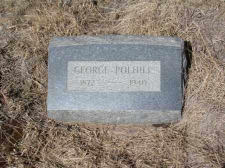 POLHILL, GEORGE - Teller County, Colorado   GEORGE POLHILL - Colorado Gravestone Photos