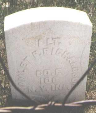 RICHARDSON, HAMLET F. - Teller County, Colorado | HAMLET F. RICHARDSON - Colorado Gravestone Photos