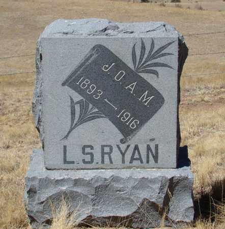 RYAN, L S - Teller County, Colorado | L S RYAN - Colorado Gravestone Photos