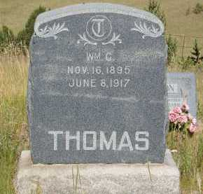 THOMAS, WM. C. - Teller County, Colorado | WM. C. THOMAS - Colorado Gravestone Photos