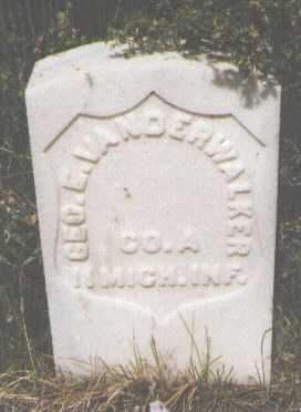 VANDERWALKER, GEORGE E. - Teller County, Colorado | GEORGE E. VANDERWALKER - Colorado Gravestone Photos