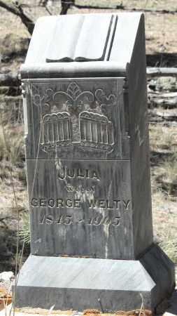 WELTY, JULIA - Teller County, Colorado | JULIA WELTY - Colorado Gravestone Photos
