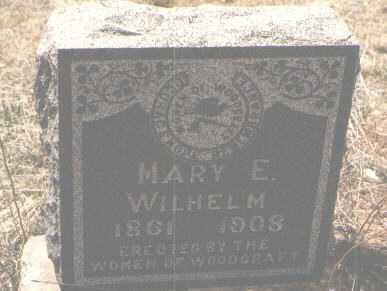 WILHELM, MARY E. - Teller County, Colorado | MARY E. WILHELM - Colorado Gravestone Photos
