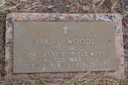 WOODS, IRA L - Teller County, Colorado   IRA L WOODS - Colorado Gravestone Photos