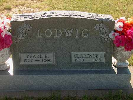 LODWIG, CLARENCE - Washington County, Colorado   CLARENCE LODWIG - Colorado Gravestone Photos
