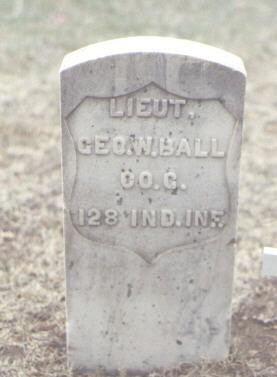BALL, GEO. W. - Washington County, Colorado | GEO. W. BALL - Colorado Gravestone Photos