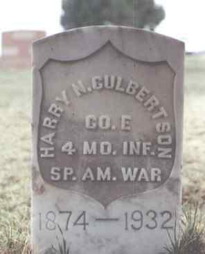 CULBERTSON, HARRY N. - Washington County, Colorado   HARRY N. CULBERTSON - Colorado Gravestone Photos