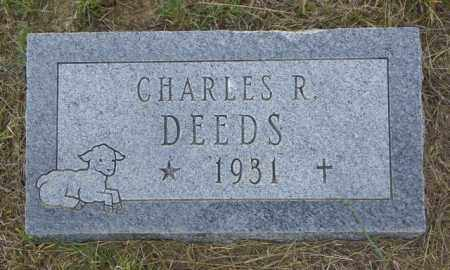 DEEDS, CHARLES R - Washington County, Colorado | CHARLES R DEEDS - Colorado Gravestone Photos