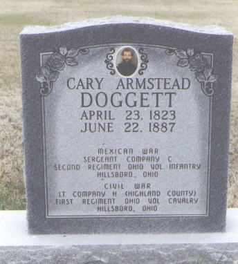 DOGGETT, CARY ARMSTEAD - Washington County, Colorado | CARY ARMSTEAD DOGGETT - Colorado Gravestone Photos