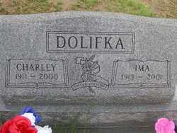 DOLIFKA, CHARLEY - Washington County, Colorado | CHARLEY DOLIFKA - Colorado Gravestone Photos
