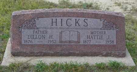 HICKS, DILLON H - Washington County, Colorado | DILLON H HICKS - Colorado Gravestone Photos