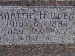 ZOOK HOLDEN, MATTIE - Washington County, Colorado | MATTIE ZOOK HOLDEN - Colorado Gravestone Photos