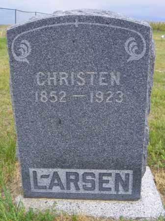 LARSEN, CHRISTEN - Washington County, Colorado   CHRISTEN LARSEN - Colorado Gravestone Photos