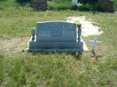 MARICK, PAUL LEE - Washington County, Colorado | PAUL LEE MARICK - Colorado Gravestone Photos