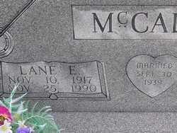 MCCALEB, LANE E. - Washington County, Colorado | LANE E. MCCALEB - Colorado Gravestone Photos