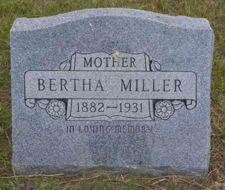MILLER, BERTHA - Washington County, Colorado | BERTHA MILLER - Colorado Gravestone Photos