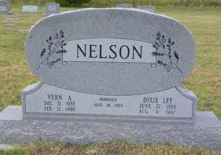 NELSON, VERN A - Washington County, Colorado | VERN A NELSON - Colorado Gravestone Photos