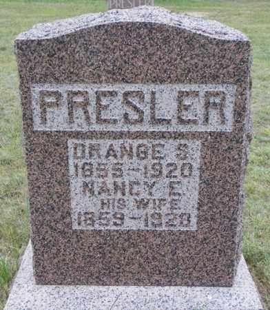 PRESLER, NANCY E - Washington County, Colorado | NANCY E PRESLER - Colorado Gravestone Photos