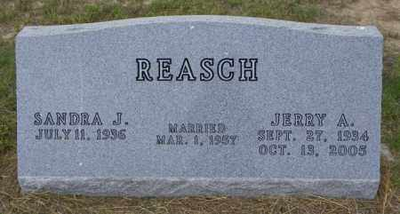 REASCH, JERRY A - Washington County, Colorado | JERRY A REASCH - Colorado Gravestone Photos