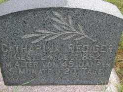SCHERTZ REDIGER, CATHARINA - Washington County, Colorado | CATHARINA SCHERTZ REDIGER - Colorado Gravestone Photos