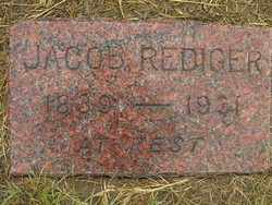 REDIGER, JACOB - Washington County, Colorado | JACOB REDIGER - Colorado Gravestone Photos