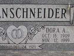 RIEMENSCHNEIDER, DORA A. - Washington County, Colorado | DORA A. RIEMENSCHNEIDER - Colorado Gravestone Photos