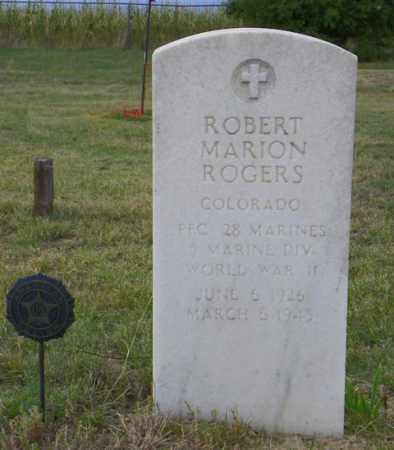 ROGERS, ROBERT MARION - Washington County, Colorado | ROBERT MARION ROGERS - Colorado Gravestone Photos
