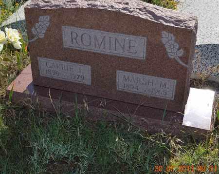 ROMINE, MARSH M. - Washington County, Colorado   MARSH M. ROMINE - Colorado Gravestone Photos
