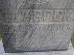 ZENDNER SCHROCK, ELLEN - Washington County, Colorado | ELLEN ZENDNER SCHROCK - Colorado Gravestone Photos