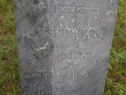 SCHROCK, LIZZIE - Washington County, Colorado   LIZZIE SCHROCK - Colorado Gravestone Photos