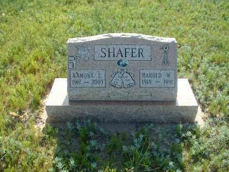 SHAFER, RAMONA E. - Washington County, Colorado | RAMONA E. SHAFER - Colorado Gravestone Photos