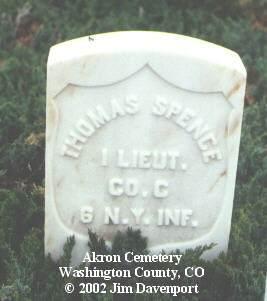 SPENCE, THOMAS - Washington County, Colorado | THOMAS SPENCE - Colorado Gravestone Photos