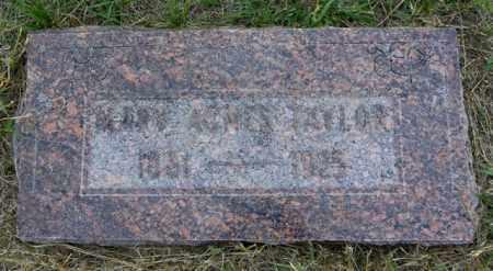 TAYLOR, MARY AGNES - Washington County, Colorado | MARY AGNES TAYLOR - Colorado Gravestone Photos