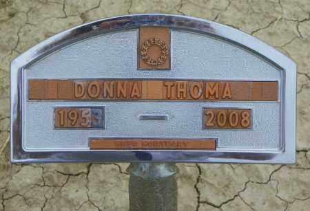 THOMA, DONNA - Washington County, Colorado   DONNA THOMA - Colorado Gravestone Photos