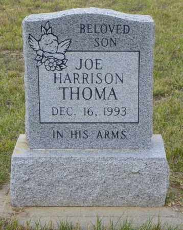 THOMA, JOE HARRISON - Washington County, Colorado | JOE HARRISON THOMA - Colorado Gravestone Photos