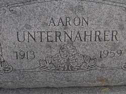 UNTERNAHRER, AARON - Washington County, Colorado | AARON UNTERNAHRER - Colorado Gravestone Photos