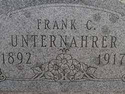 UNTERNAHRER, FRANK C. - Washington County, Colorado | FRANK C. UNTERNAHRER - Colorado Gravestone Photos