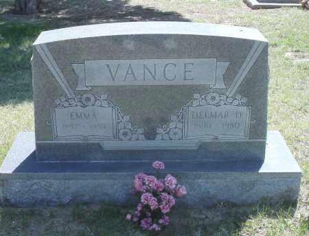 VANCE, DELMAR D. - Washington County, Colorado | DELMAR D. VANCE - Colorado Gravestone Photos