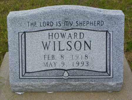 WILSON, HOWARD - Washington County, Colorado   HOWARD WILSON - Colorado Gravestone Photos